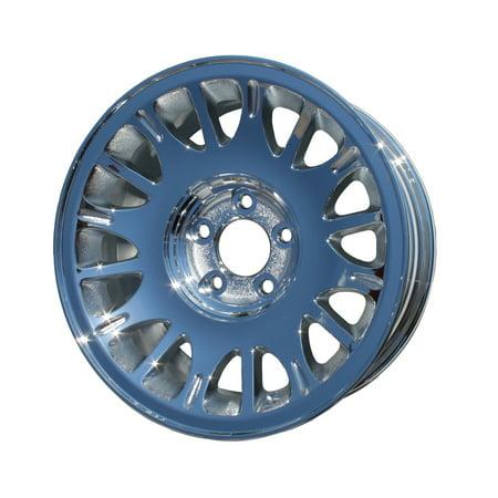 Aftermarket 1998-2002 Lincoln Town Car  16x7 Aluminum Alloy Wheel, Rim Chrome Plated - 3318 (Lincoln Chrome Rims)