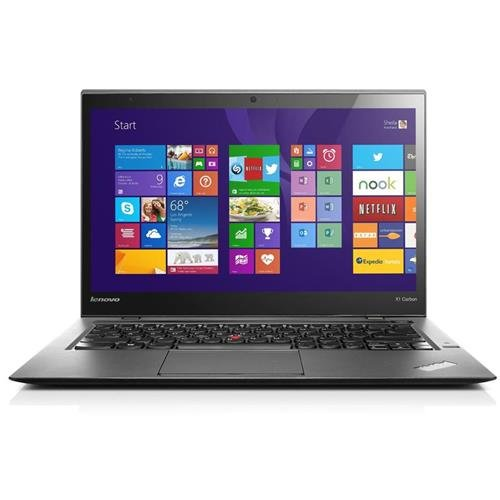 Lenovo Thinkpad X1 Carbon 20A80034US 14IN. LED Ultrabook ...