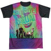 Suicide Squad Stand Off Mens Sublimation Shirt