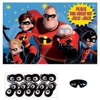 Incredibles 2 Party Game Poster (1ct)