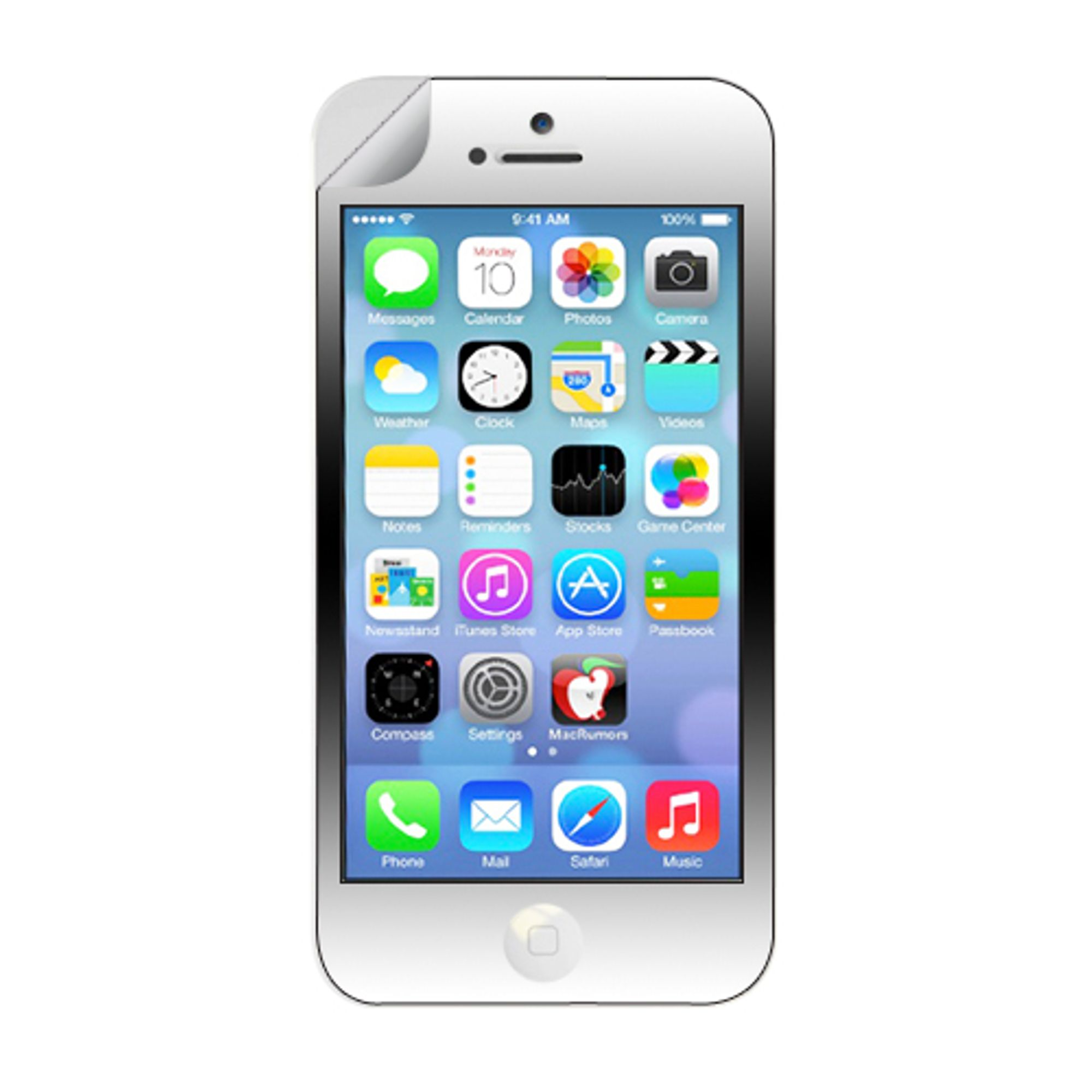 insten Clear Screen Protector Regular LCD Film Guard For Apple iPhone 5C