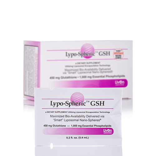 Lypo-Spheric GSH - 30-Packet Carton by LivOn Labs