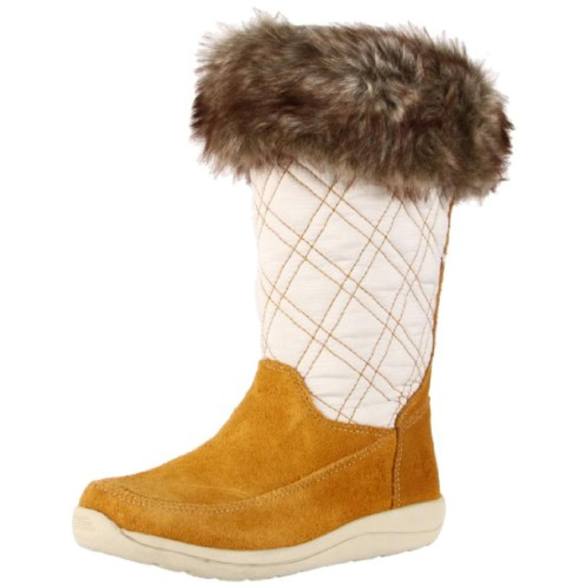 Timberland Girls Maple Candy Toddler Suede Snow Boots