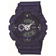G-Shock Heathered Blue Dial Resin Quartz Men's Watch GA110HT-2A