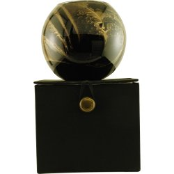 Ebony Candle Globe The Inside Of This 4 In Polished Globe Is Painted With Wax To Create Swirls Of Gold And Rich Hues And