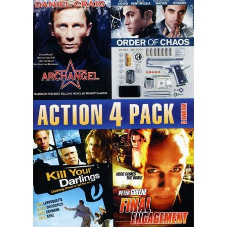 Action 4 Pack, Volume 3: Archangel / Order Of Chaos / Kill Your Darlings / Final Engagement (Full Frame) (Halloween Order Films)