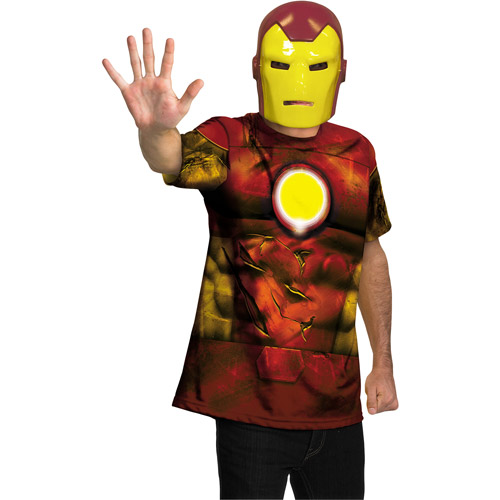 Iron Man Alternative Teen Halloween Costume, Size: Men's - One Size