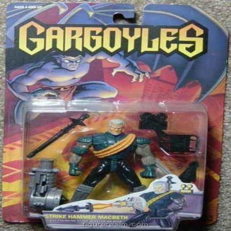 Walt Disneys Gargoyles Strike Hammer Macbeth Action Figure - Gargoyle Feet