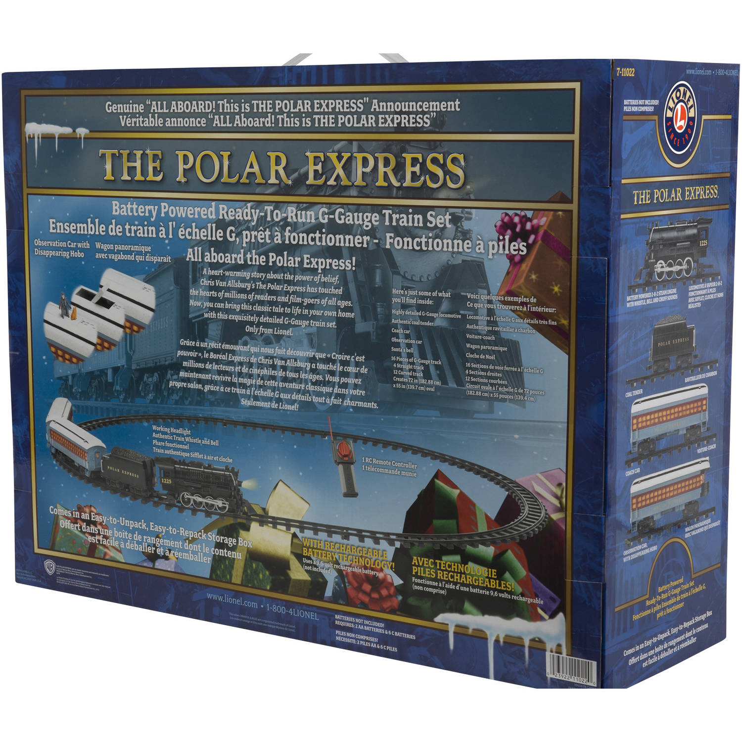 Lionel G Scale The Polar Express Battery Powered Model Train ...