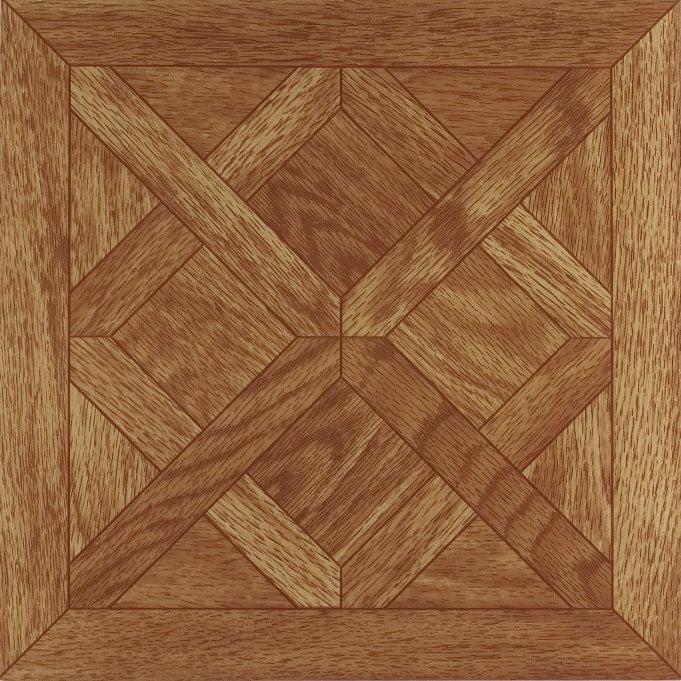 Nexus Classic Parquet Oak 12x12 Self Adhesive Vinyl Floor Tile - 20 Tiles/20 sq. ft.