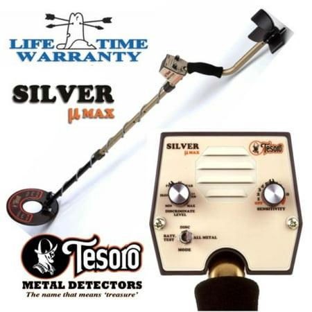 Tesoro Silver Umax Metal Detector with Lifetime Warranty