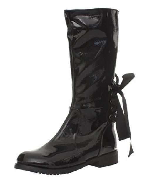 A-Line Women's Crinkle Boot, Black, 37 EU / 6 US