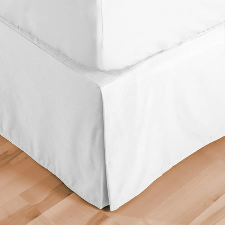 Double Bedskirt (Double Brushed Microfiber Bed Skirt by Bare Home )