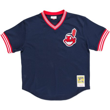 Joe Carter Cleveland Indians Mitchell & Ness Authentic 1986 BP Jersey by