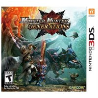 Deals on Monster Hunter Generations Capcom Nintendo 3DS
