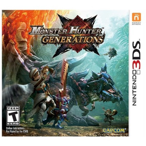 Monster Hunter Generations, Capcom, Nintendo 3DS, 013388305254