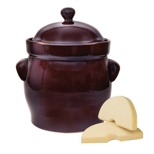 TSM Products 10L Polish Fermentation Crock