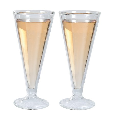 IN-13676425 Double Wall Champagne Flutes 1 Set(s)