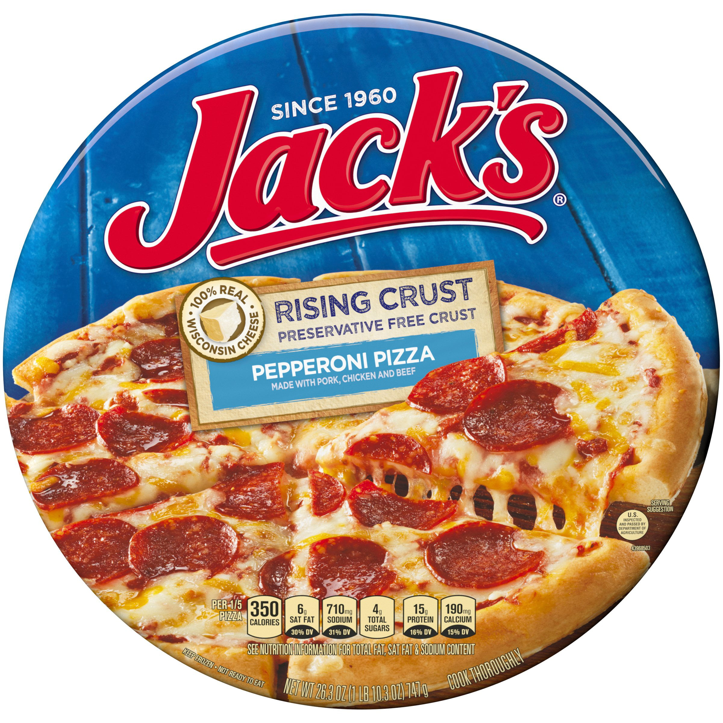 Jack's Rising Crust Pizza