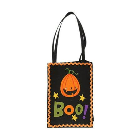 Planning Kindergarten Halloween Party (Halloween Decorations Creative Pumpkin Gift Bags Mall Kindergarten Gift)