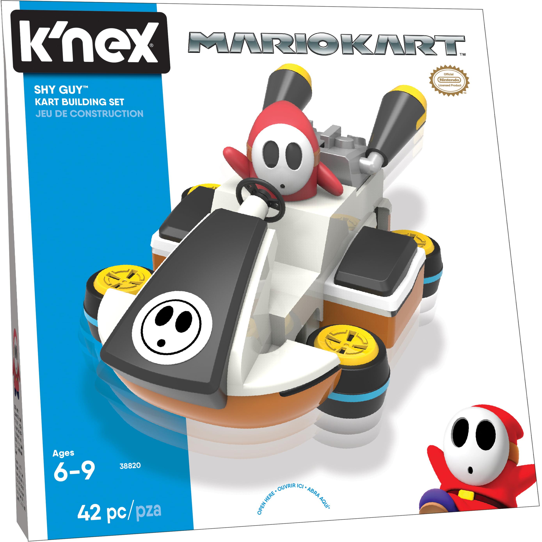 K'NEX Mario Kart Shy Guy Kart Building Set