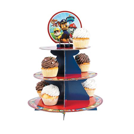 Paw Patrol Treat Stand for Birthday - Party Supplies - Licensed Tableware - Misc Licensed Tableware - Birthday - 1