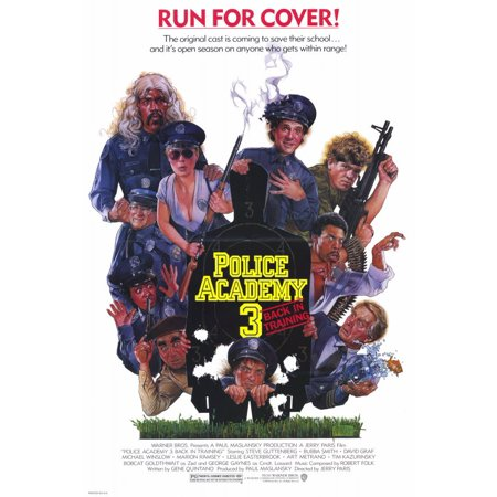 Police Academy 3 Back in Training (1986) 11x17 Movie Poster