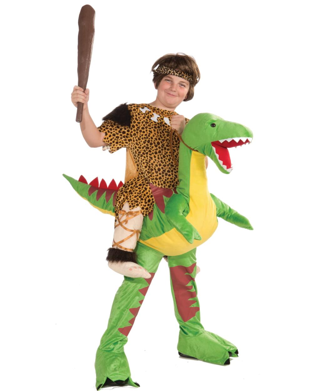 Kids Riding Dinosaur Cave Boy Stone Age Mascot Costume 1-Size Fits Most - Walmart.com  sc 1 st  Walmart & Kids Riding Dinosaur Cave Boy Stone Age Mascot Costume 1-Size Fits ...
