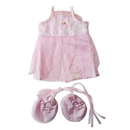 Pink Ballerina Outfit Fits Most 14