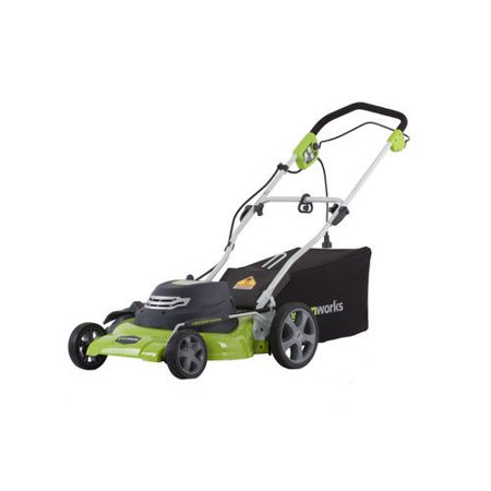 Finish Mower - Greenworks 20-Inch 12 Amp Corded Lawn Mower 25022