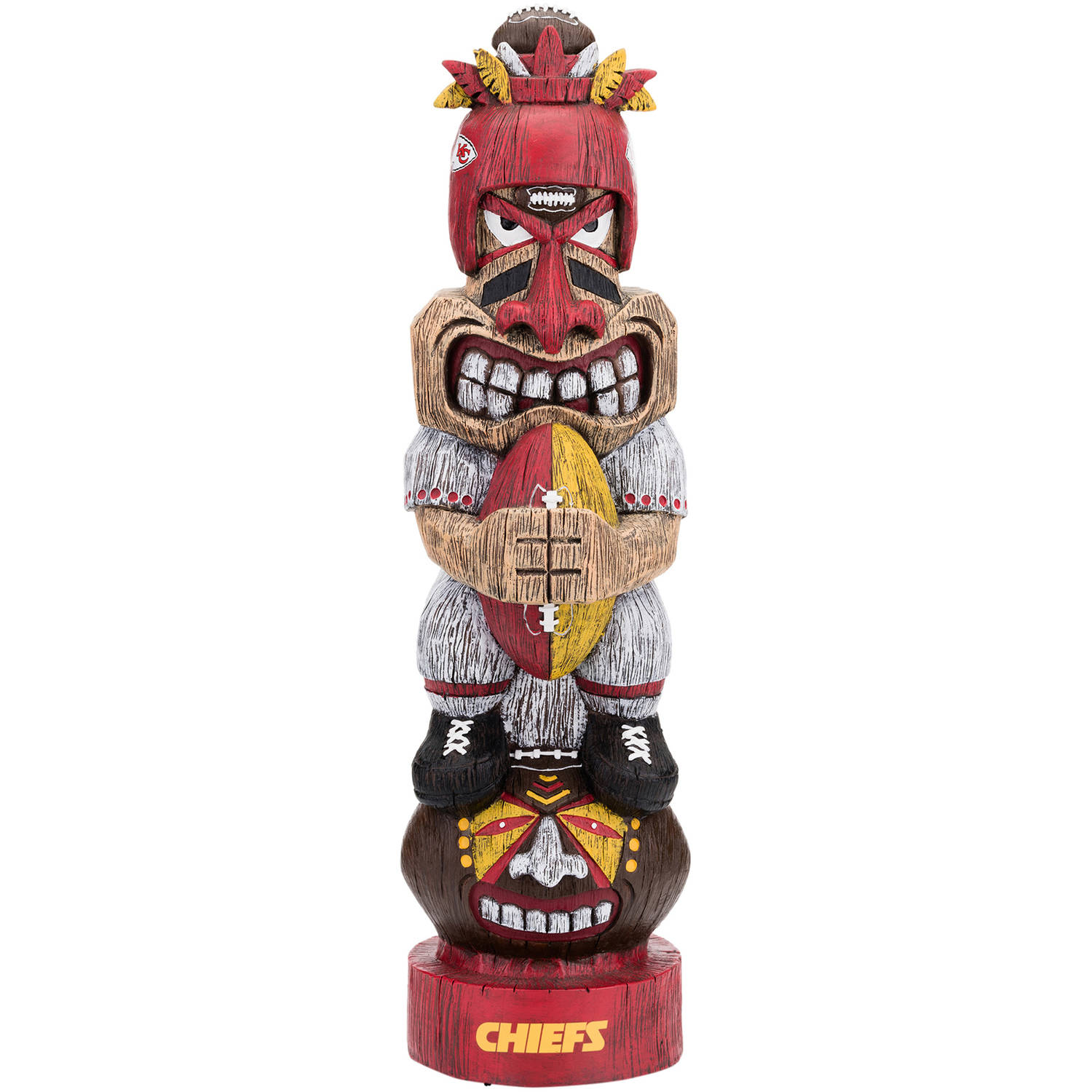 Forever Collectibles NFL Tiki Totem, Kansas City Chiefs