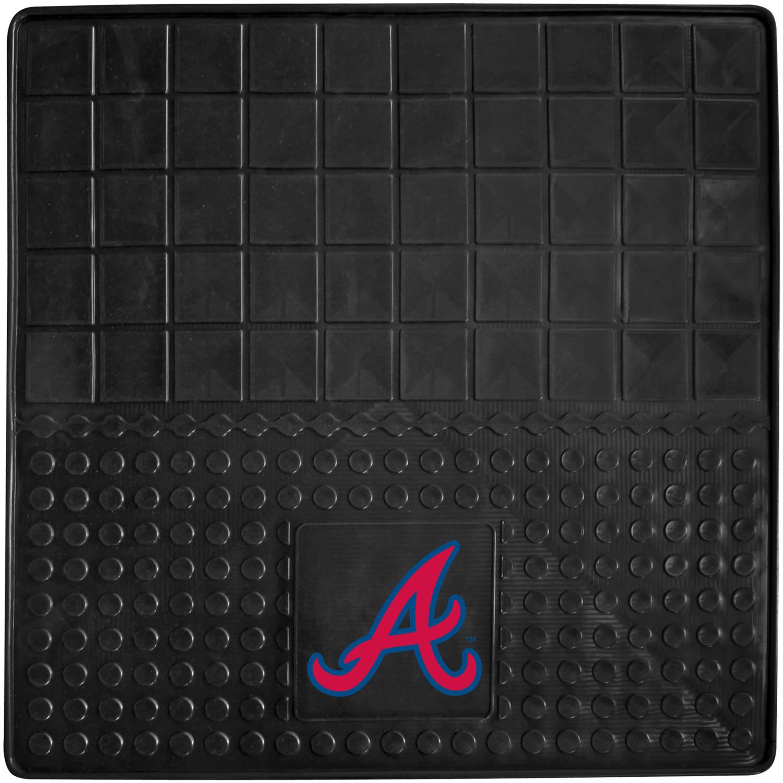 MLB Texas Rangers Vinyl Cargo Mat, Black