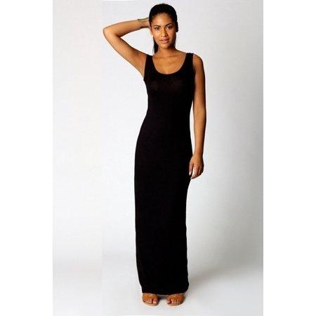 35af2a9661e VISTA - Fashion Women Sleeveless Casual Maxi Tank Dress Plus Size XS-3XL  Summer Sexy Dresses - Walmart.com