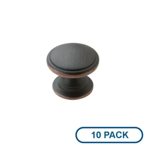 Amerock BP53012-10PACK Knobs Allison Value Hardware Cabinet Hardware Mushroom ; by Amerock