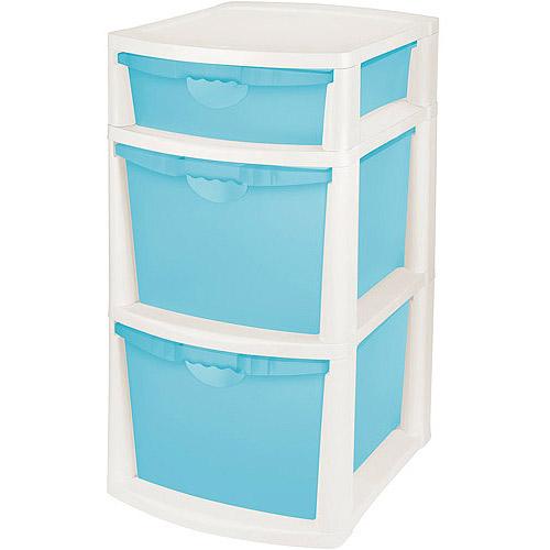 Sterilite 3 Bin Storage System