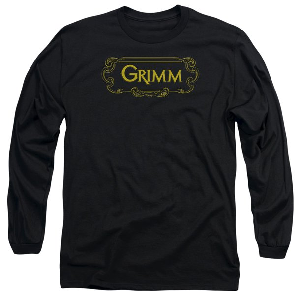 Grimm - Plaque Logo - Long Sleeve Shirt - Small