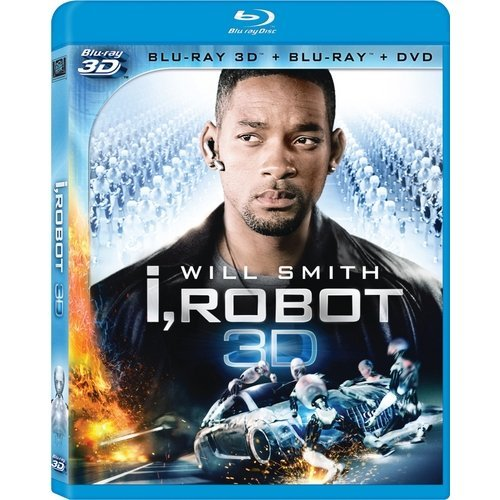 I Robot (3D Blu-ray   Blu-ray   DVD) (With INSTAWATCH) (Widescreen)