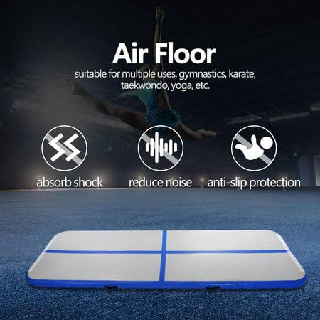 9.84ft Air Tumbling Mat Inflatable Air Pad Floor Home Gym Gymnastics Training Tumbling Mat - Mat Halloween Trainer 2