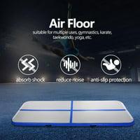 9.84ft Air Tumbling Mat Inflatable Air Pad Floor Home Gym Gymnastics Training Tumbling Mat Track