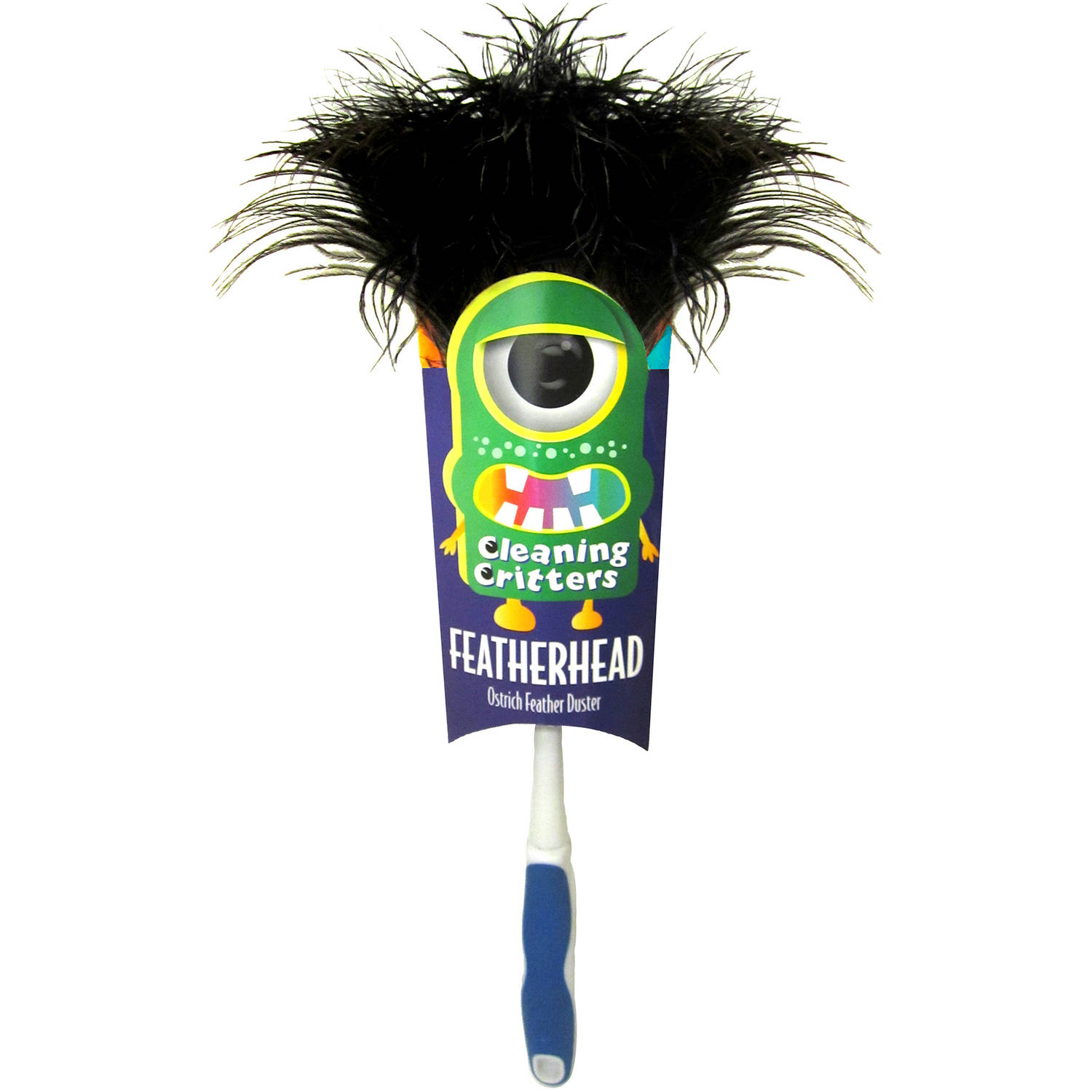 Ettore Cleaning Critters Featherhead Ostrich Feather Duster, 32026