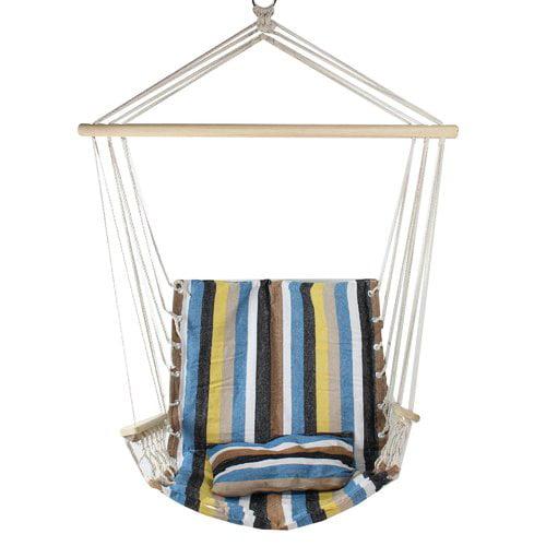 Highland Dunes Osiris Striped Chair Hammock