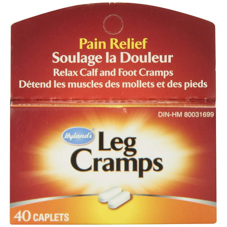 Image of Hyland's Leg Cramps Caplets, 40 ct.Hyland's Leg Cramps is a traditional homeopathic formula for the relief of symptoms of cramps and pains in lower.., By Hylands Homeopathic