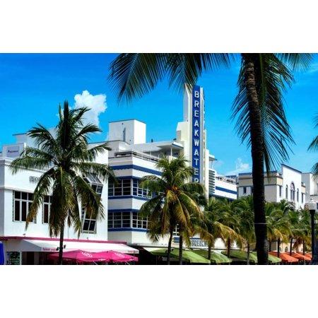 Art Deco Architecture Of Miami Beach The Esplendor Hotel Breakwater South Ocean Drive