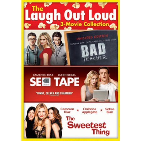 Bad Teacher / Sex Tape / The Sweetest Thing (DVD) (Sex Position Dvd)