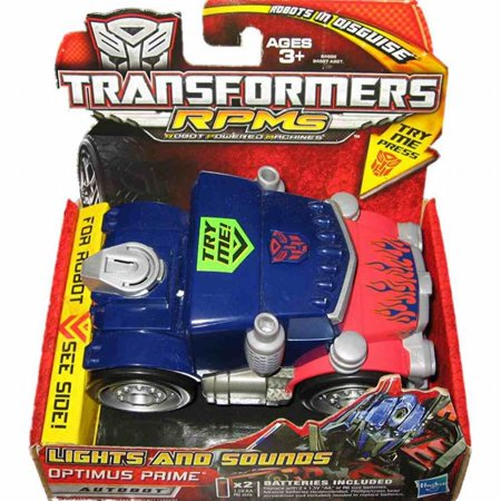 Optimus Prime Vehicle - Hasbro Transformers RPMs Lights and Sounds Optimus Prime Autobot Vehicle