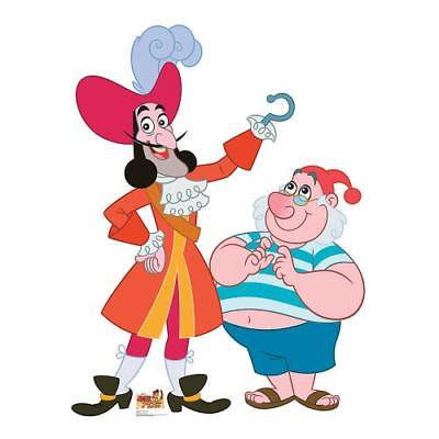 IN-13612612 Captain Hook & Mr. Smee Cardboard Stand-Up