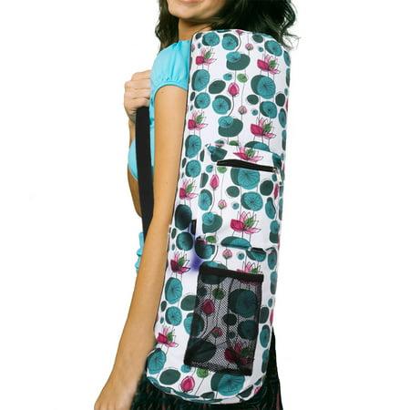 Rorytory Yoga Mat Bag W Adjustable Strap Water Bottle