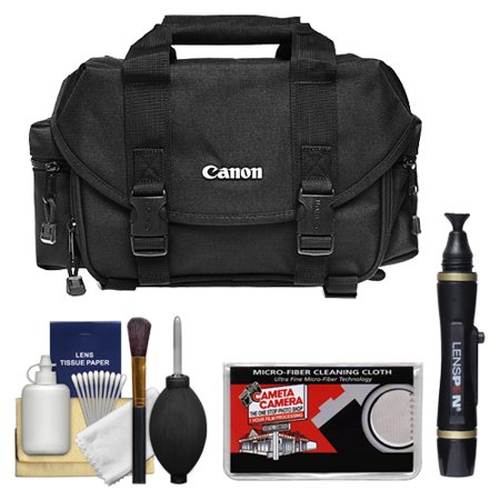 Canon 2400 Digital SLR Camera Case Gadget Bag + Accessory Kit for EOS 6D, 70D, 7D, 5DS, 5D Mark II III, Rebel T3, T3i, T5, T5i, T6i, T6s, SL1 DSLR