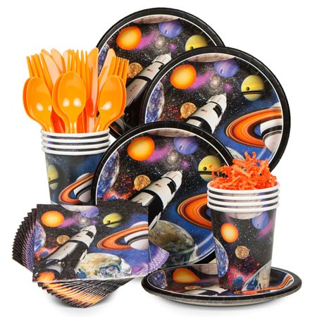 Space Blast Standard Kit (Serves 8) - Party Supplies - Space Party Supplies