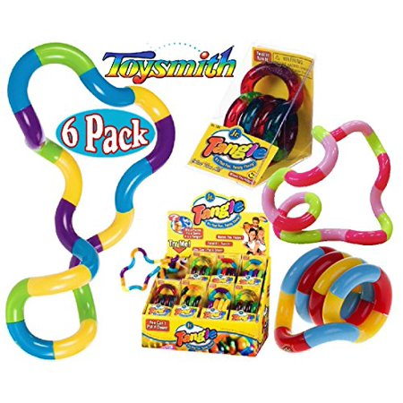 Set Of 6 Tangle Jr Original Fidget Toys Walmart Com